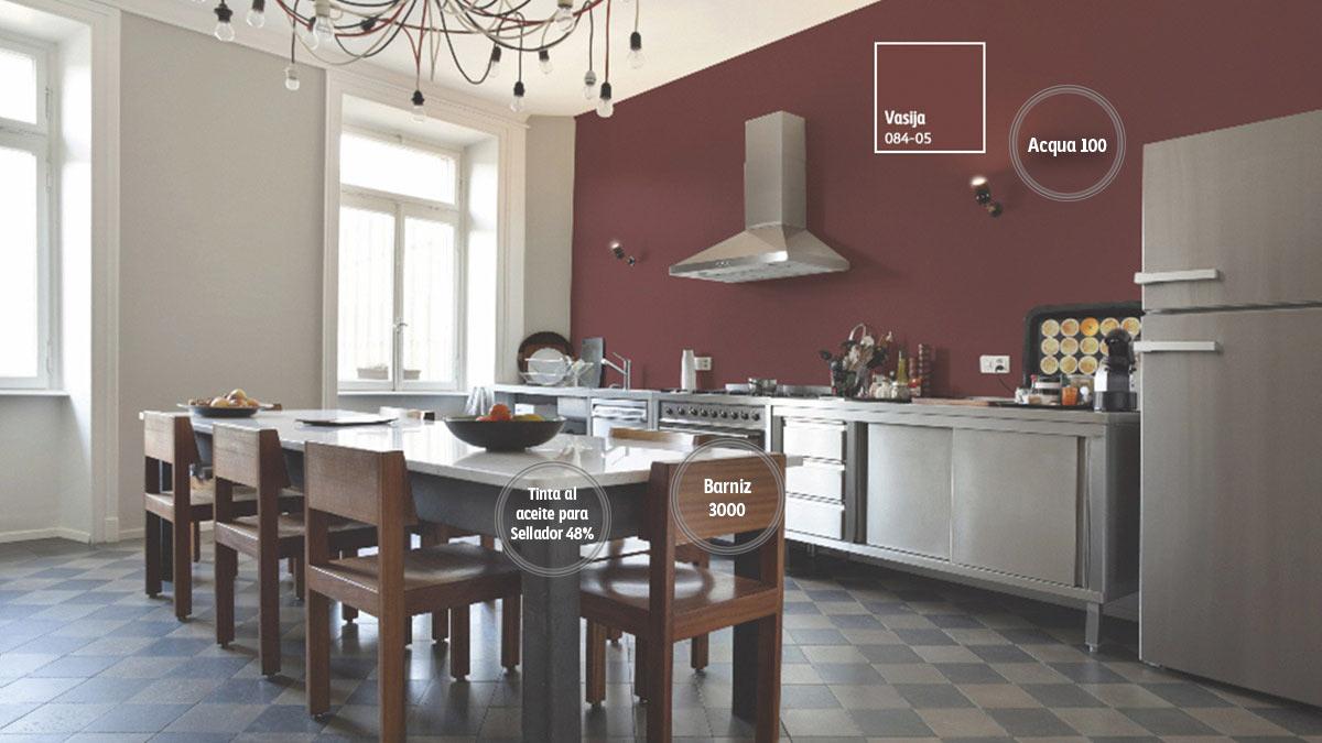 Decoraci n de espacios para cocinas comex for Muestrario cocinas